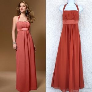 Alfred Angelo | Halter Chiffon Bridesmaid Gown 2